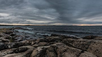 Zweedse kust van Werner Lerooy