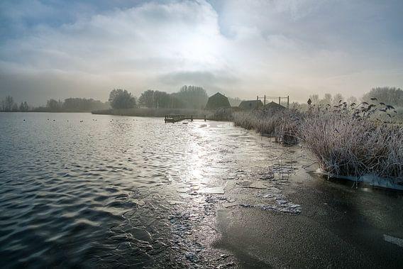 Een winterse dag van Arjen Roos