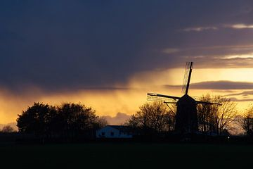 Niederländisches Abendland von Geert van Kuyck