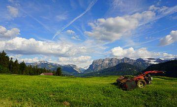 Bergpanorama am Vorarlberg von Toni Stauche
