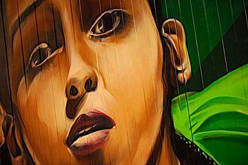 Straßenkunst in Indien von Guus Janssen