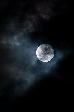 Blue Moon (Super lune bleue) sur Jaap de Wit