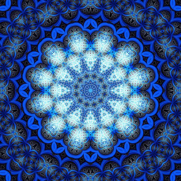 Mandala 01 von Marion Tenbergen