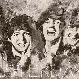 The Beatles - Yesterday - Yesterday van Christine Nöhmeier