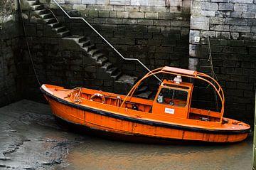 Oranje boot  van Eline Willekens