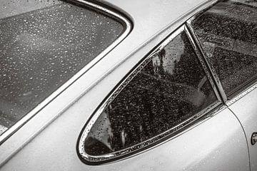 Extrémité arrière classique de voiture de sport du classique 1966 de Porsche 911 sur Sjoerd van der Wal