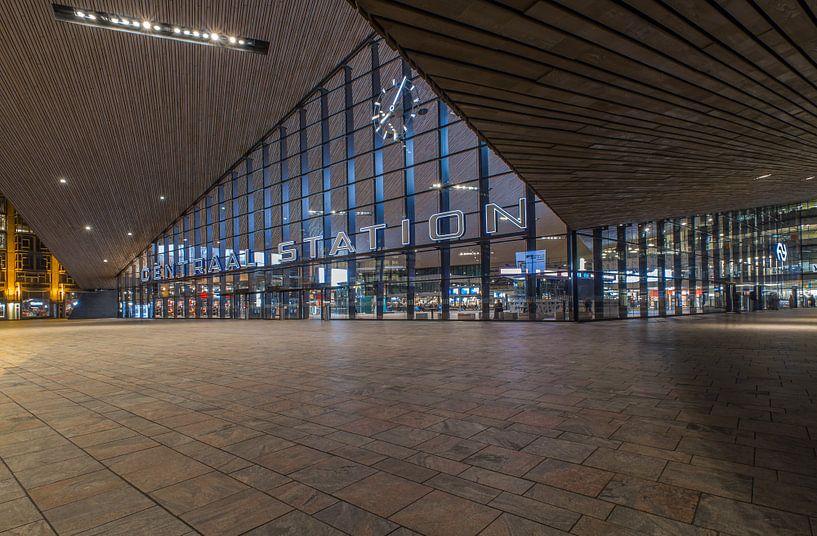 Het Centraal Station in Rotterdam van MS Fotografie   Marc van der Stelt