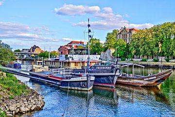 Historische Schiffe in Regensburg von Roith Fotografie