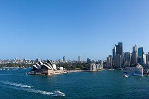 Sydney, Australië. Het Sydney Opera House is een beroemd kunstcentrum. Het werd ontworpen door de De