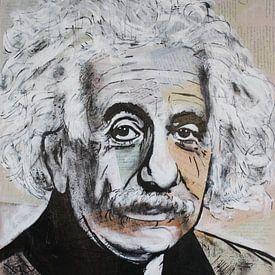 Albert Einstein E = mc2 sur Kathleen Artist Fine Art