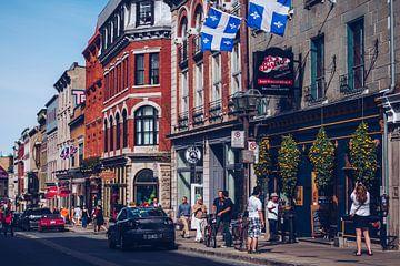 Québec - Rue Saint-Jean sur Alexander Voss