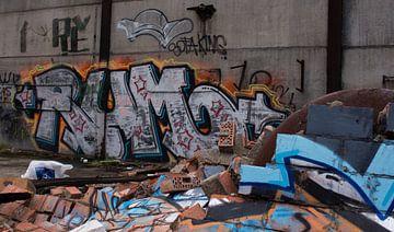 Grafiti, Urbex van Patrick Ruitenbeek