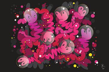 Graffiti-Pop-Kunst von Koen Haarbosch