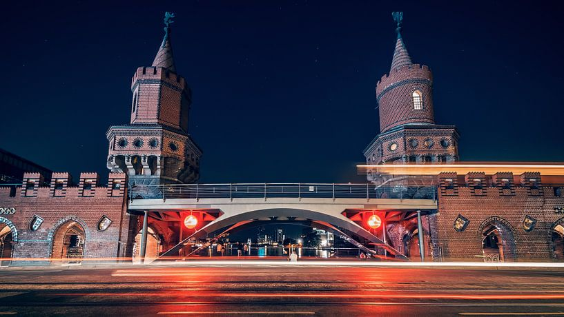 Berlin - Oberbaum Bridge van Alexander Voss