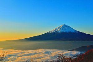 Japan - Mount Fuji bij zonsopgang
