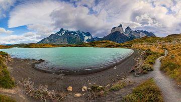 Torres del Paine Nationaal Park, Chili van Dieter Meyrl