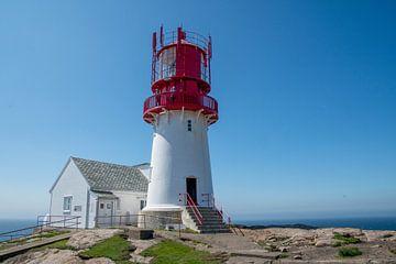 Der Leuchtturm von Lindesnes von Evy De Wit