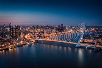 Erasmus-Brücke Rotterdam von Anthony Malefijt