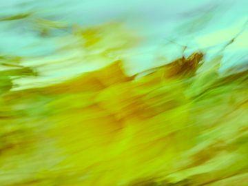 Sonnenblumen im Wind 2 van