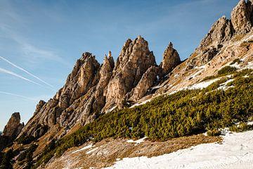 Rotsen in Italie - Dolomieten van MICHEL WETTSTEIN
