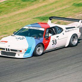 BMW M1 voiture de course classique sur Sjoerd van der Wal