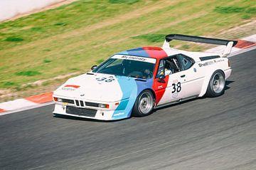 BMW M1 klassieke racewagen van Sjoerd van der Wal