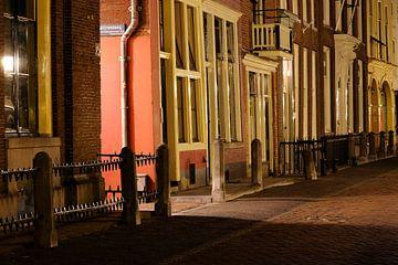 Nieuwegracht in Utrecht ter hoogte van de Catharijnesteeg van Donker Utrecht
