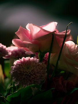 De roze roos van Arno Marx