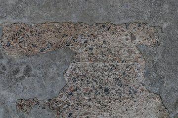 Alte raue Betonmauer von Ans Bastiaanssen