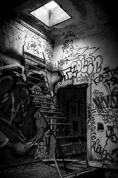 Escaliers vers la lumière sur Mark Dankers