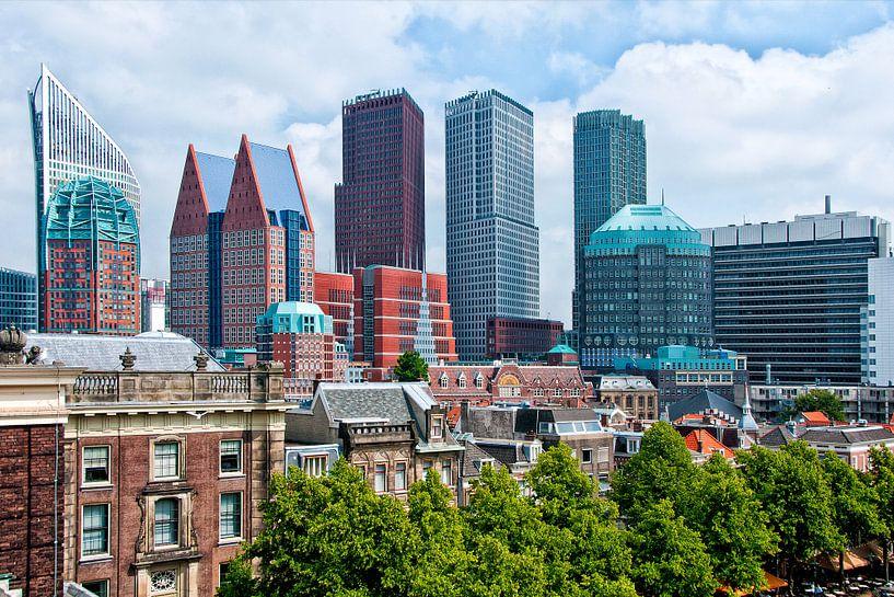 Den Haag skyline van Michel Groen