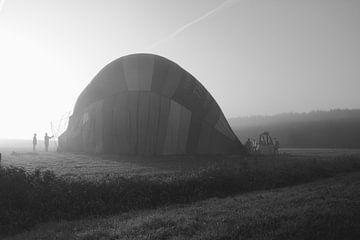 Luchtballon von Cees van Valen