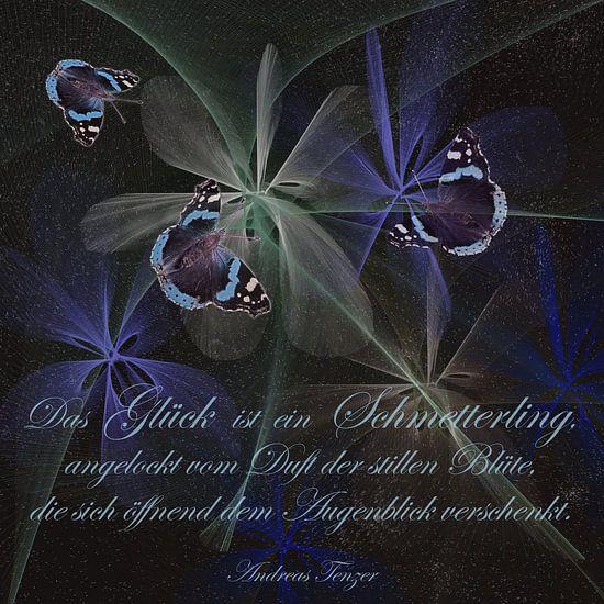 Geluk is een vlinder ....,