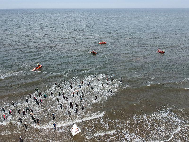 Triathlon in Zandvoort von Marco Bakker
