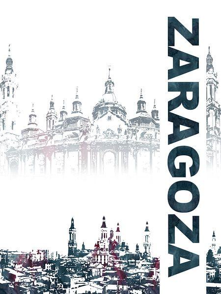 Zaragoza van Printed Artings