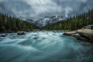 Mistaya Canyon Alberta Canada