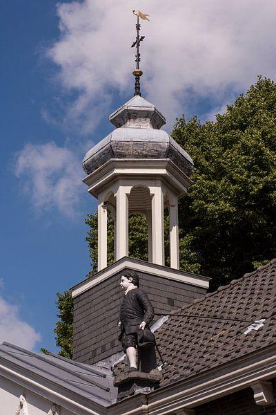 Torentje op het Weeshuis te Schiedam van Jan Sluijter