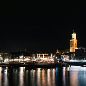 Skyline van Zwolle van Thomas Bartelds