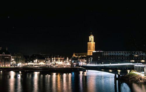 Skyline van Zwolle van