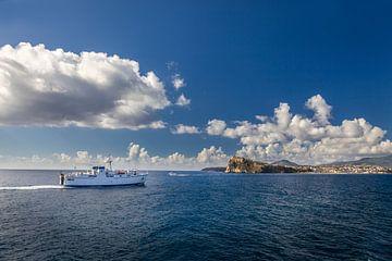 Fähre nach Procida, Golf von Neapel, Italien von Christian Müringer