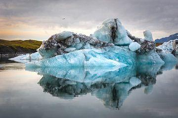 IJsschots in IJsland van