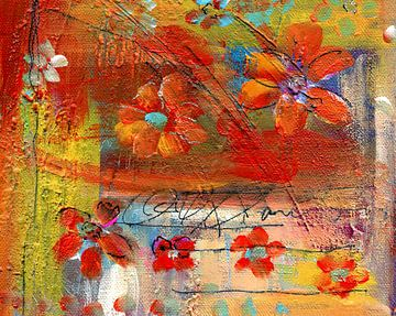 bloemenreis 12 van Claudia Gründler