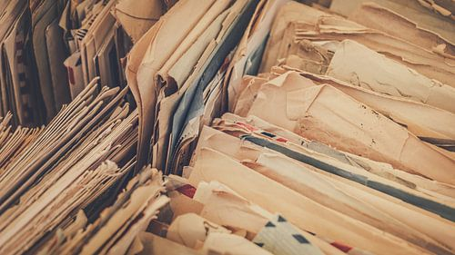 Vintage enveloppen van