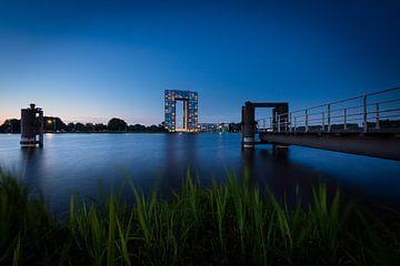 Sonnenuntergang Korb-Büros Groningen von Dethmer Kupers