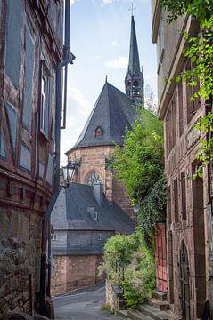 Kugelgasse Marburg an der Lahn van Jürgen Schmittdiel Photography