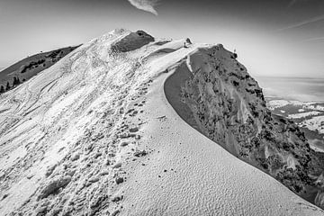 Hochgrat im Winter von MindScape Photography