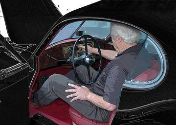 Jaguar XK 120 started von aRi F. Huber