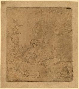 Rembrandt van Rijn, De rust op de Vlucht van