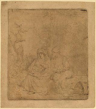 Rembrandt van Rijn, Die Ruhe auf der Flucht von