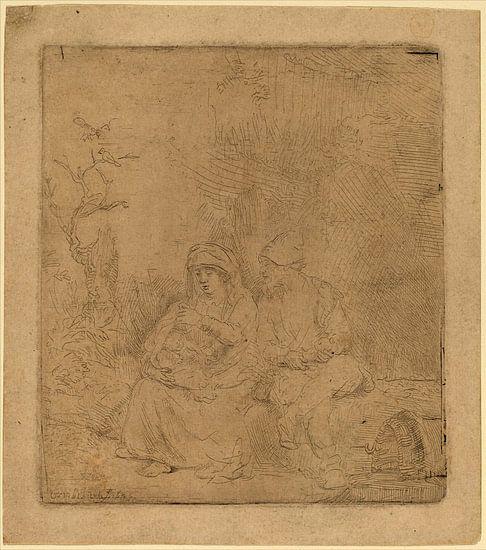 Rembrandt van Rijn, De rust op de Vlucht
